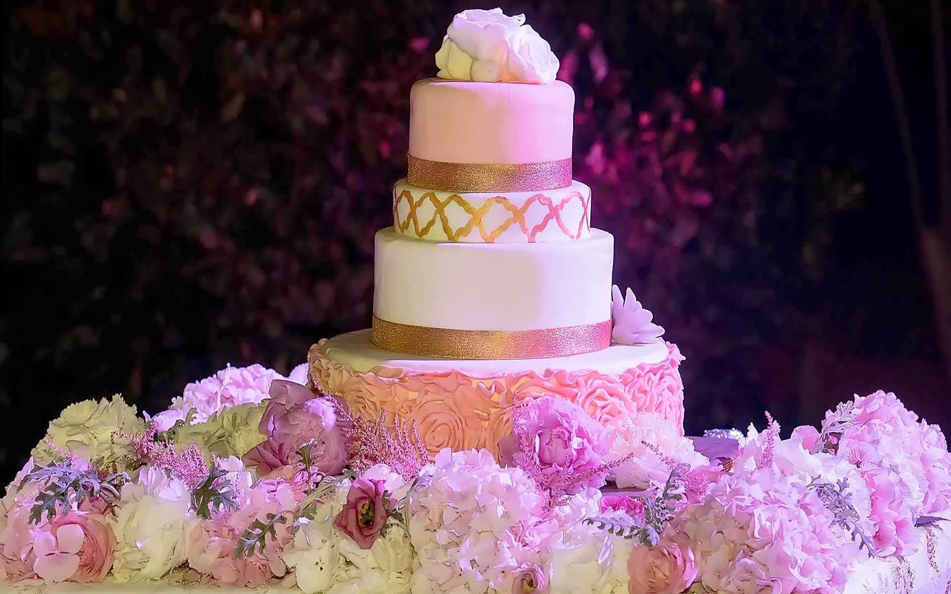 Every-Layer-Is-Like-A-Layer-Of-Love-Gold-Hand-Painted-Accents-Blush-Flowers