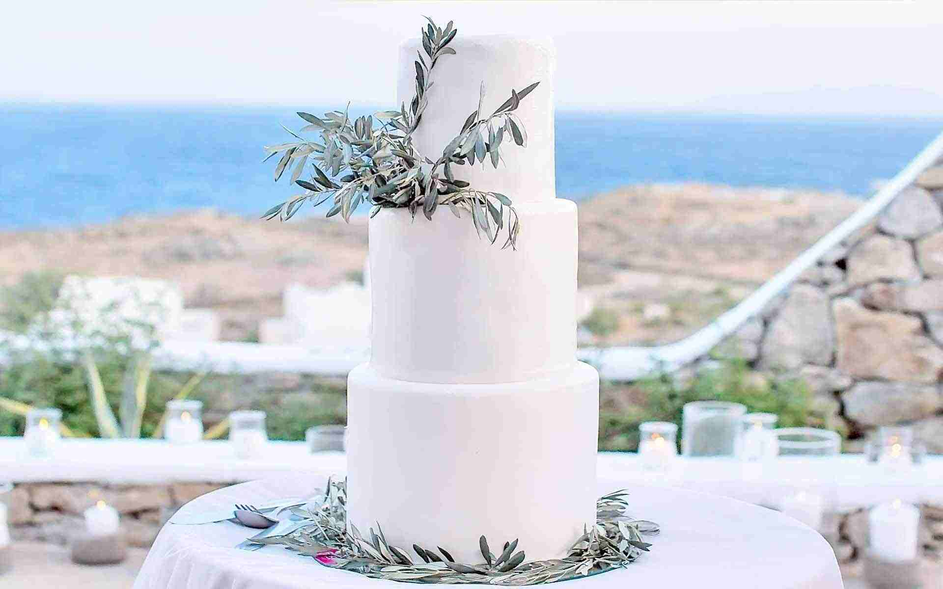 Olive-Branches-Wedding-Decorated-Cake-by-Diamond-Events-Wedding-Event-planning-services