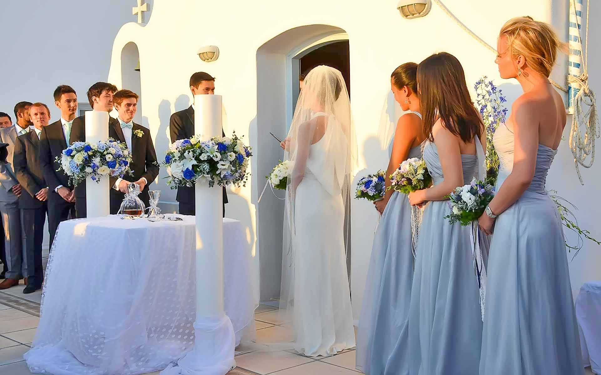 A-Japanese-groom-and-a-Romanian-bride-tide-their-knots-in-Agia-Photini-chapel-in-Saint-John-Hotel-Mykonos