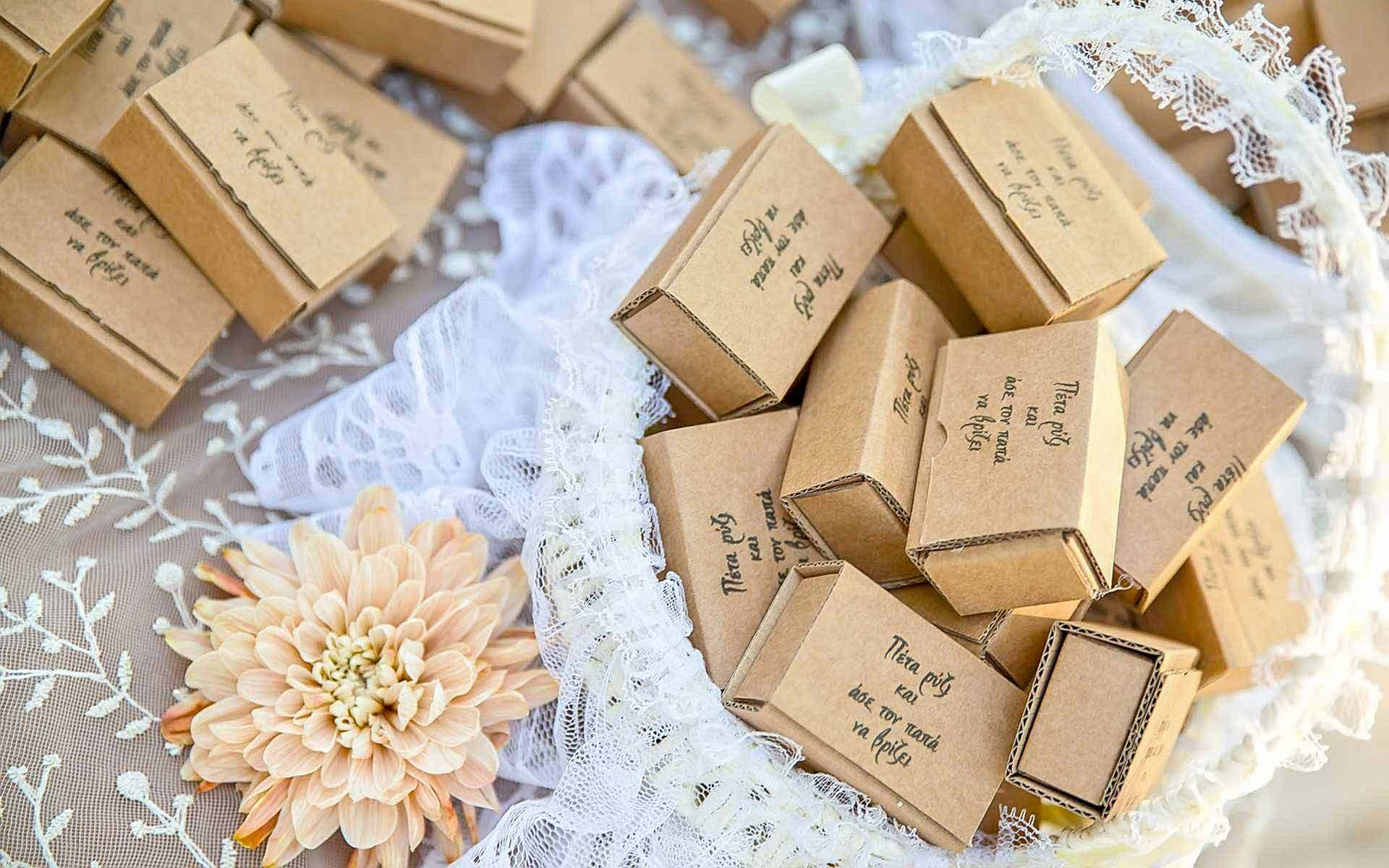 Customised-square-boxes-with-rice-for-the-traditional-rice-toss-by-Diamond-Events-Wedding-Event