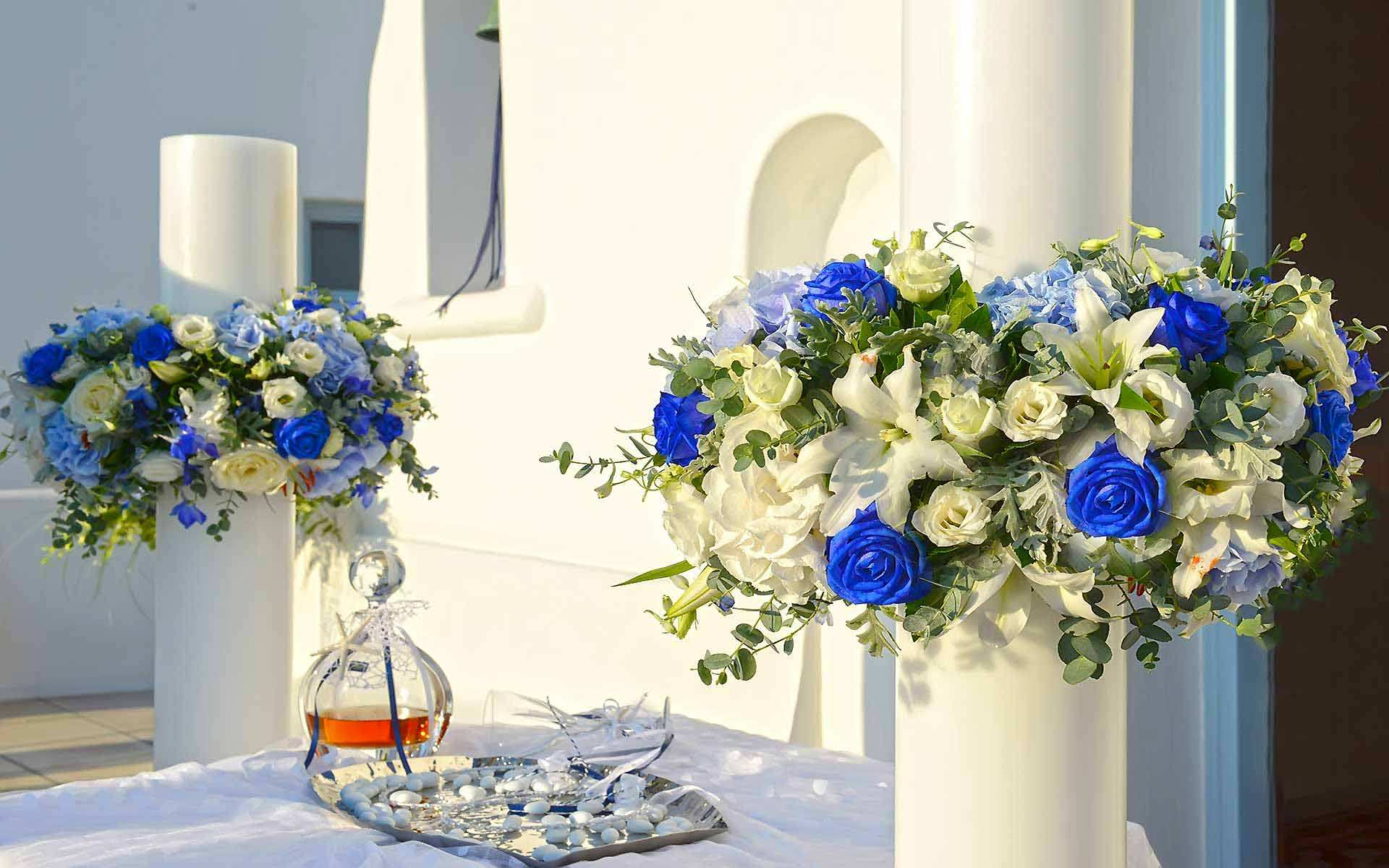 Mediterranean-Civil-wedding-candles-in-a-chapel-in-Mykonos-by-Diamond-Events