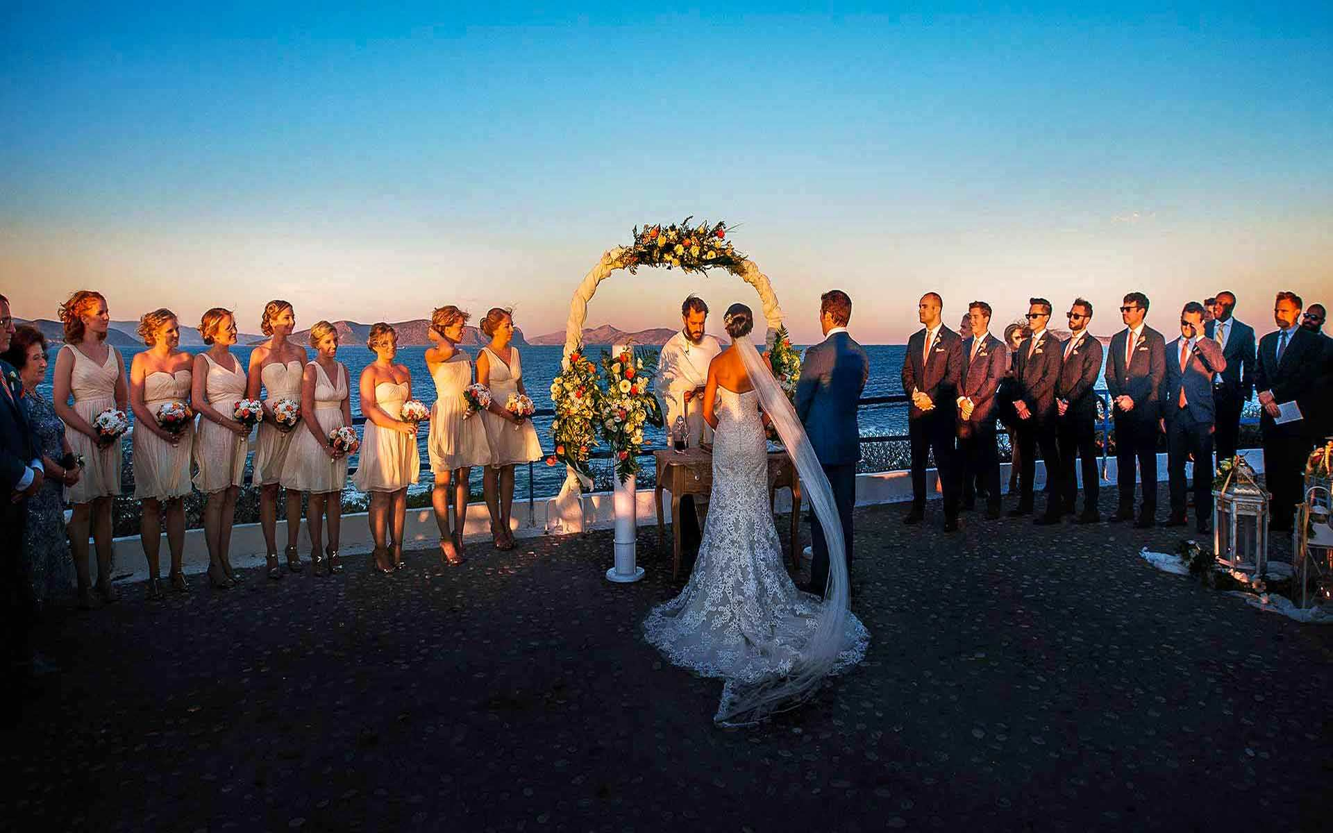 Romantic-wedding-ceremony-with-unimaginable-view-of-the-endless-blue-in-Porto-Heli