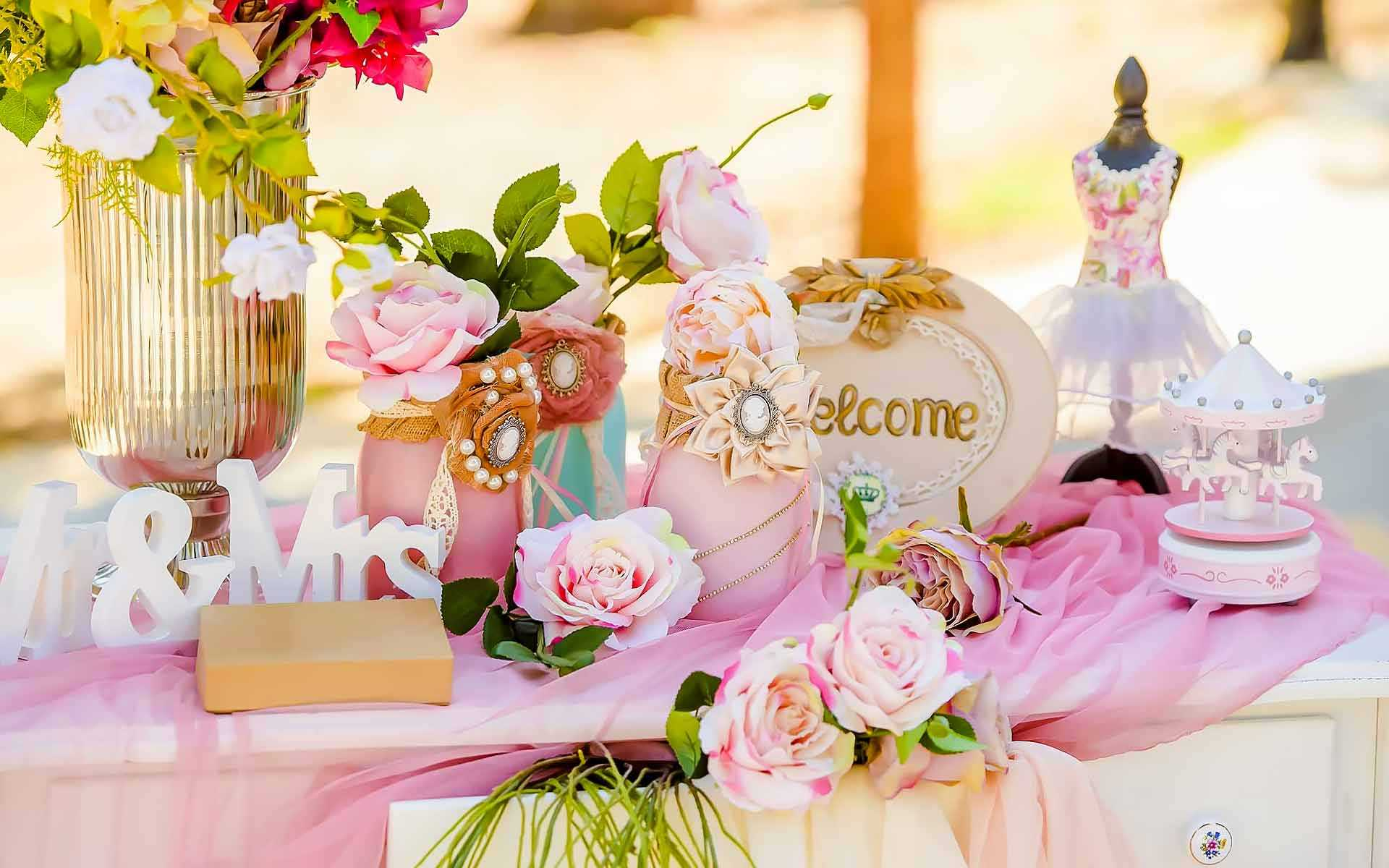 Baptismal-Decor-That-Sets-The-Scene-Of-Ballerinas-And-Carousels