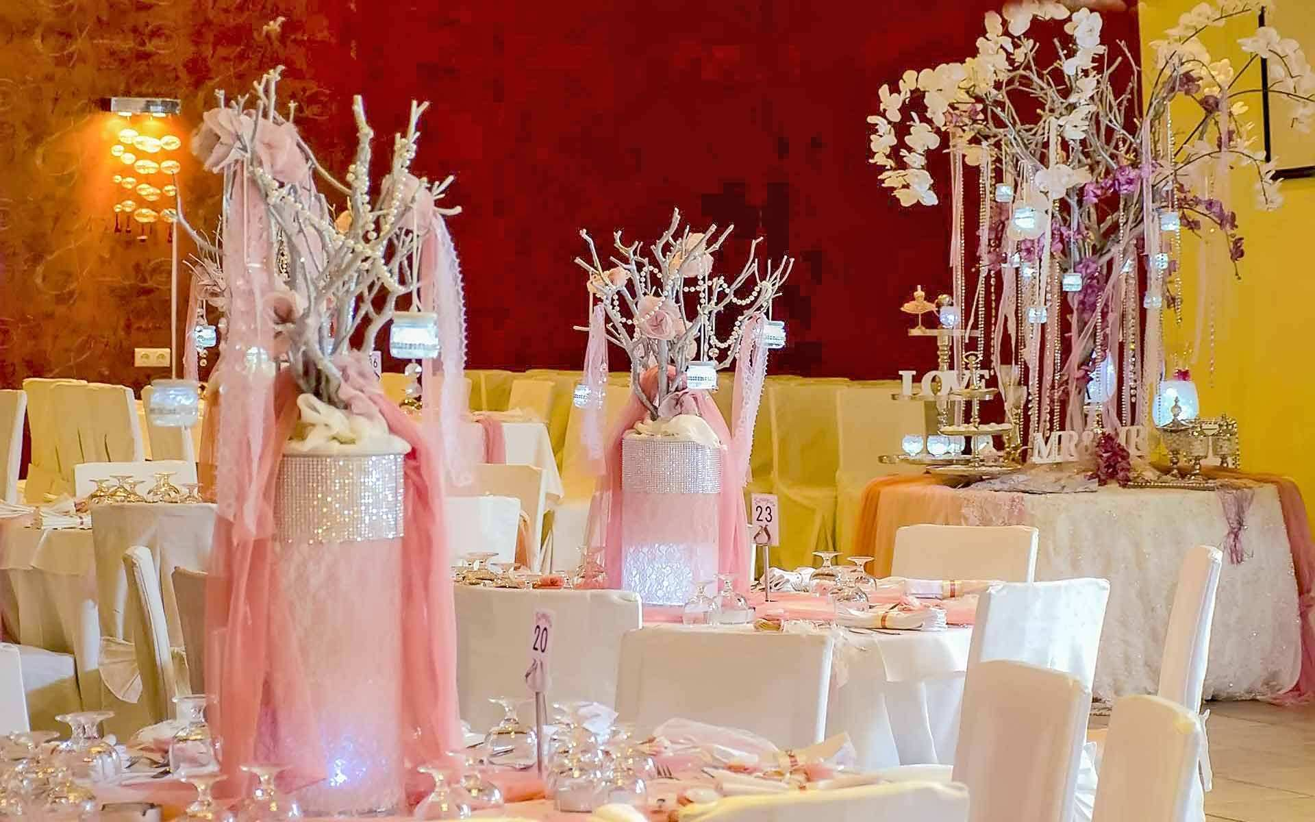 Luxurious-Baptism-Christening-Reception-Venue-With-Orchids-Pearls-And-Pink-Fabrics