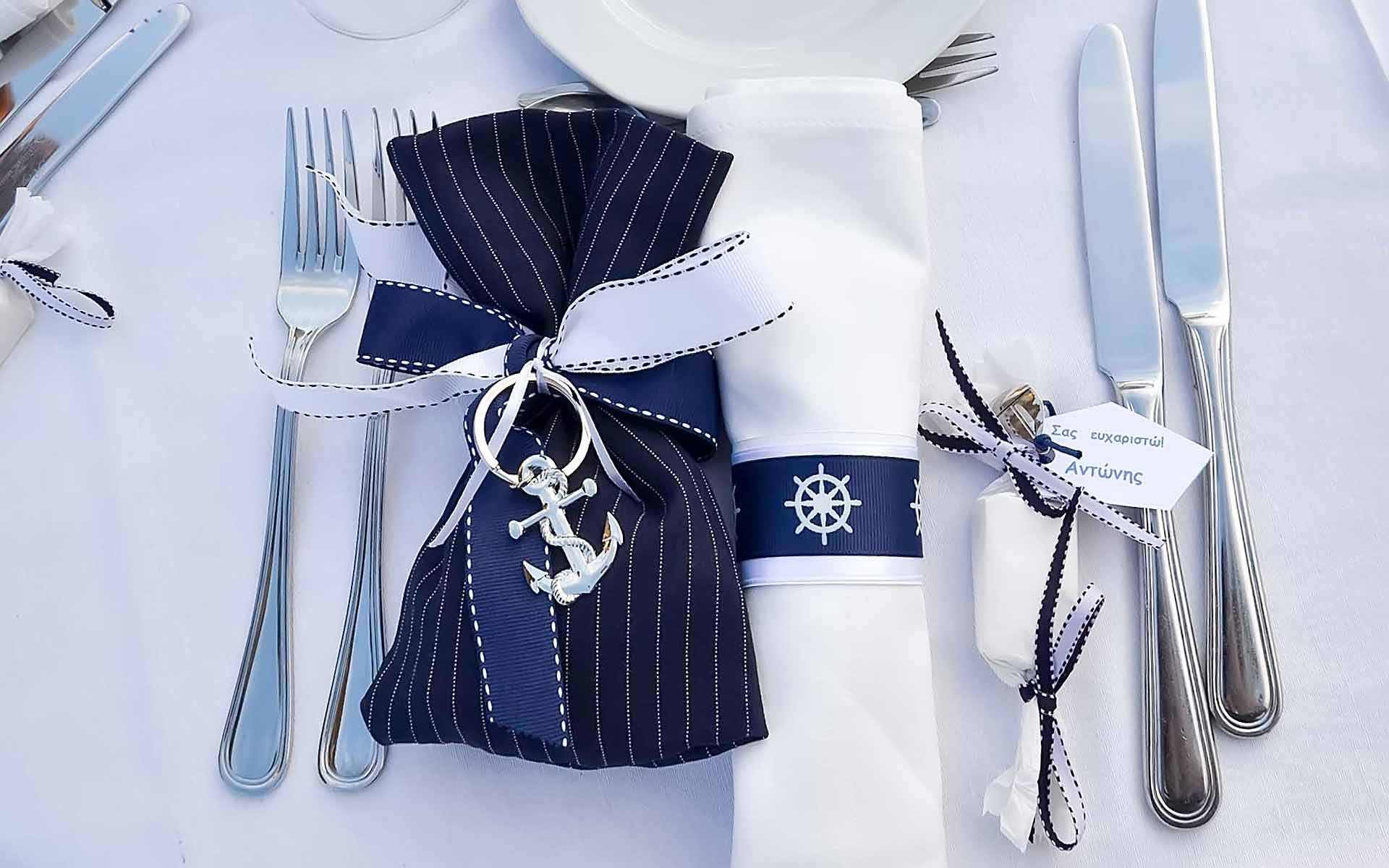 Nautical-Baptism-With-Blue-Navy-Pouk-With-Decorative-Metal-Anchor-Elements