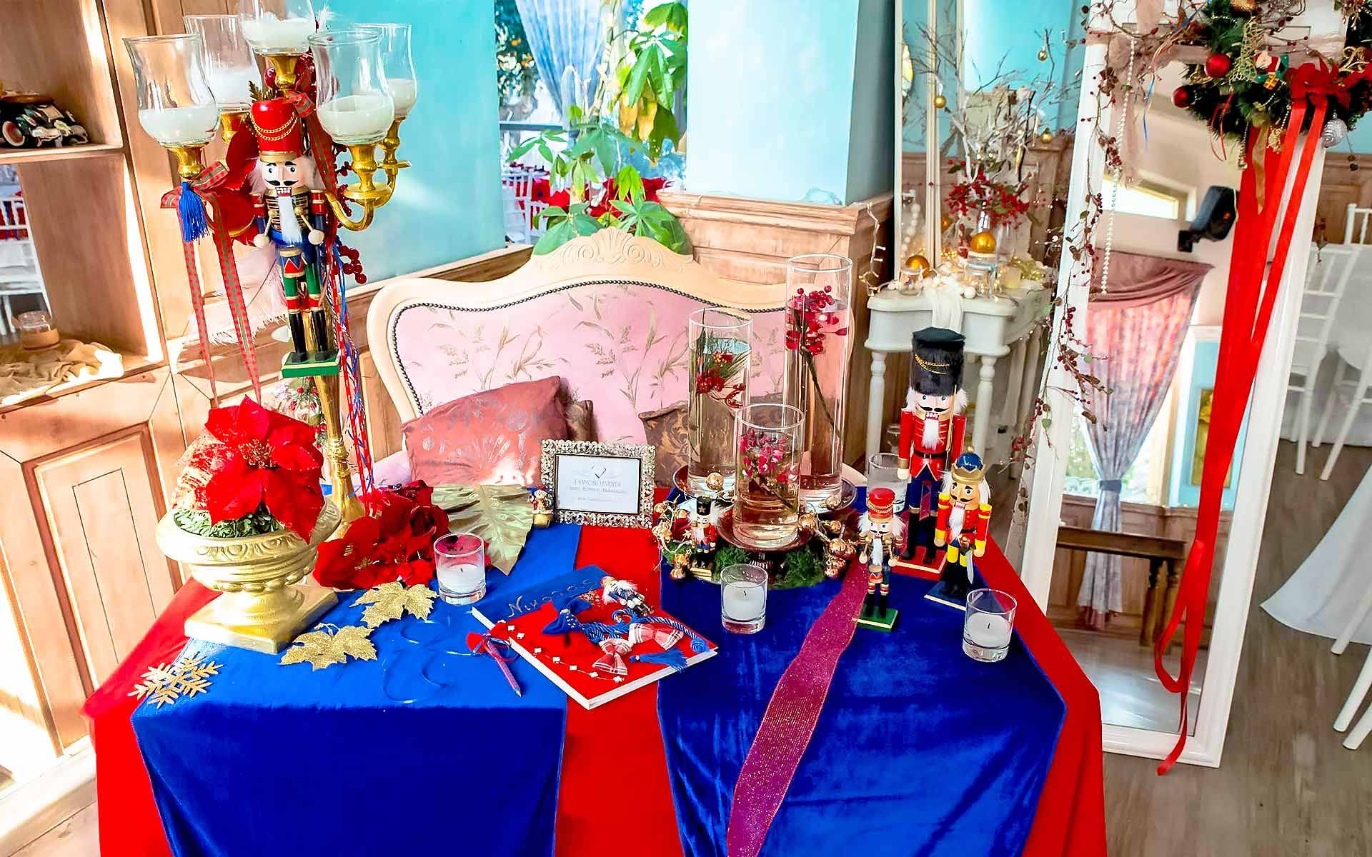 Nutcracker-Christmas-Holiday-Guest-Book-Table-by-Diamond-Events-christening