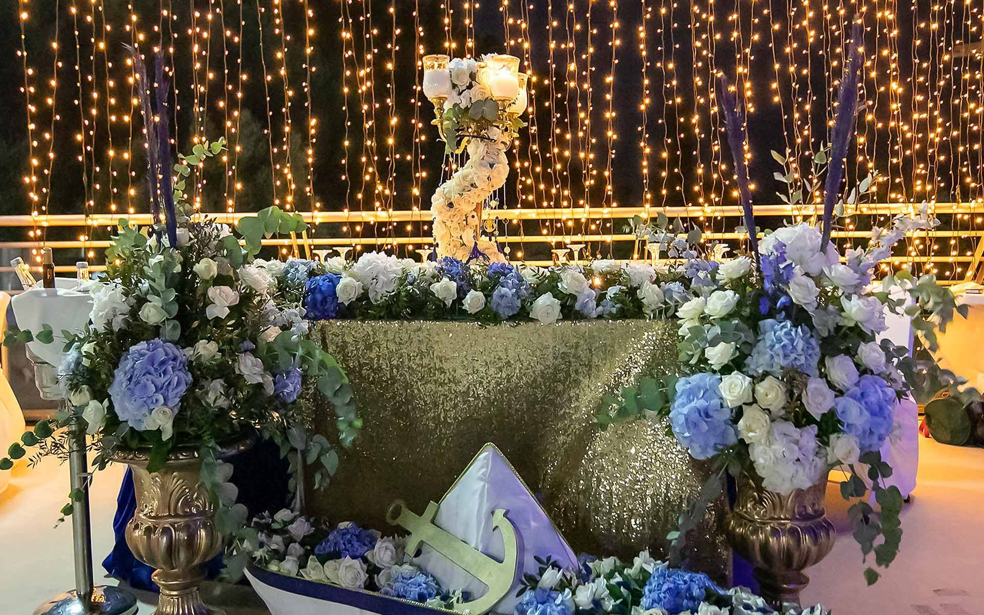 Royal Birthday - Royal Baptism - Prince Theme Party - Blue and Gold