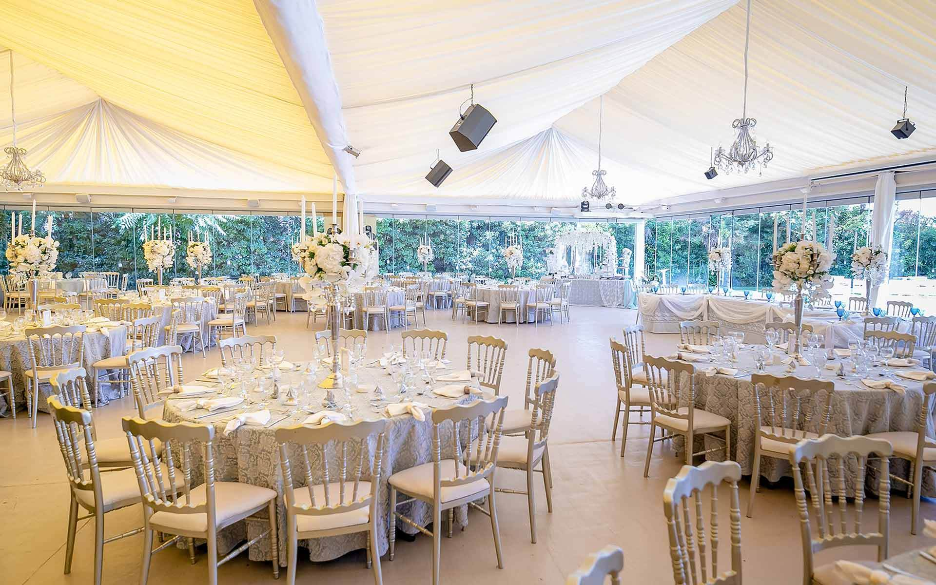 Glamorous-Wedding-candelabras-Centerpieces-with-orchids-at-erofili-reception-venue