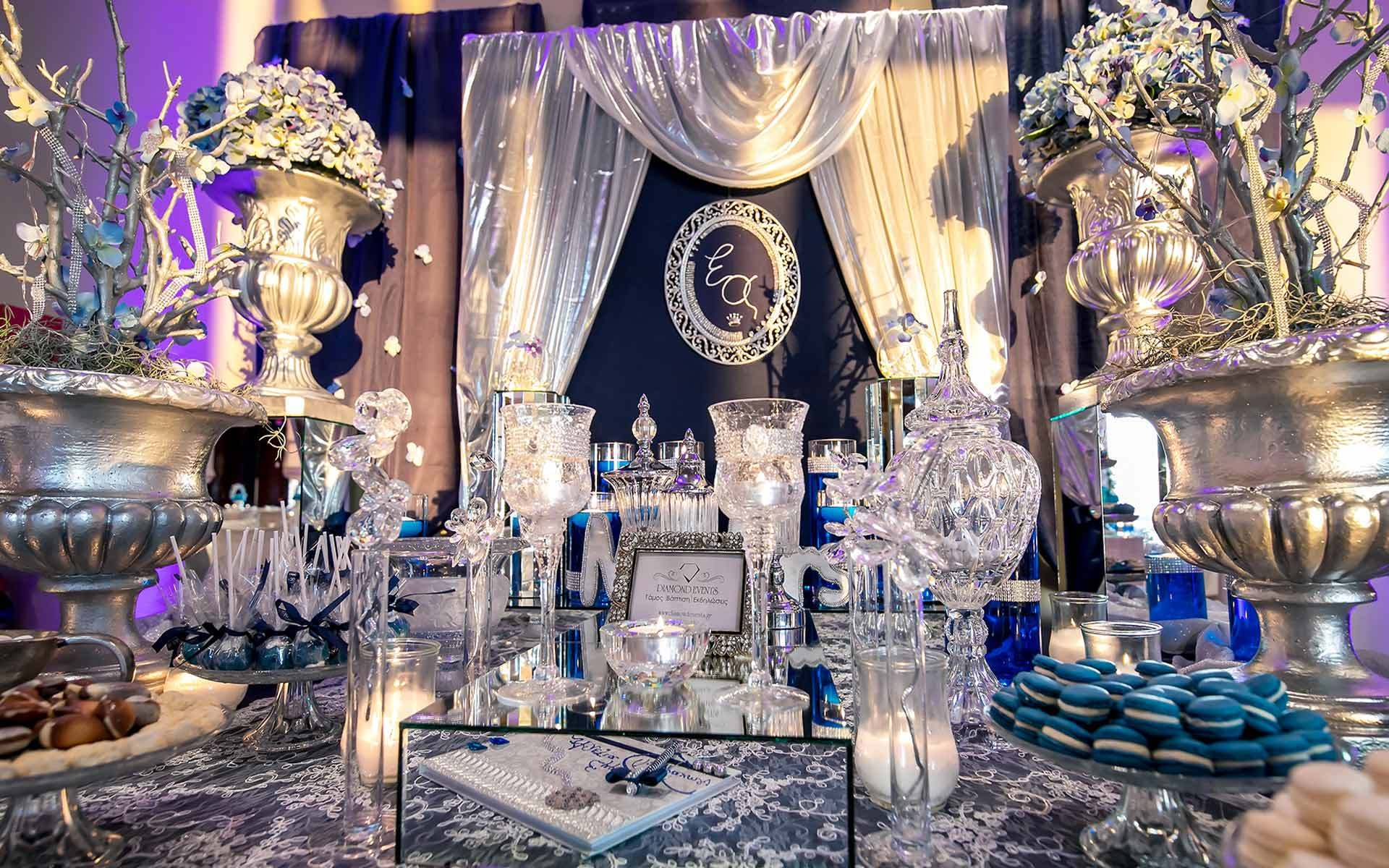 Luxurious-Silver-Wedding-Guest-Book-Table-by-Diamond-Events-Wedding-Event