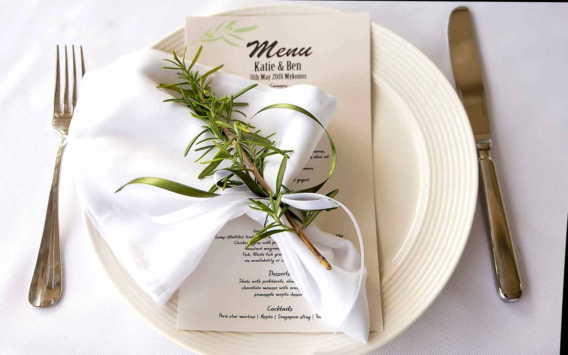 Wedding-Menu-In-Rosemary-by-Diamond-Events-Wedding-Event-planning-services