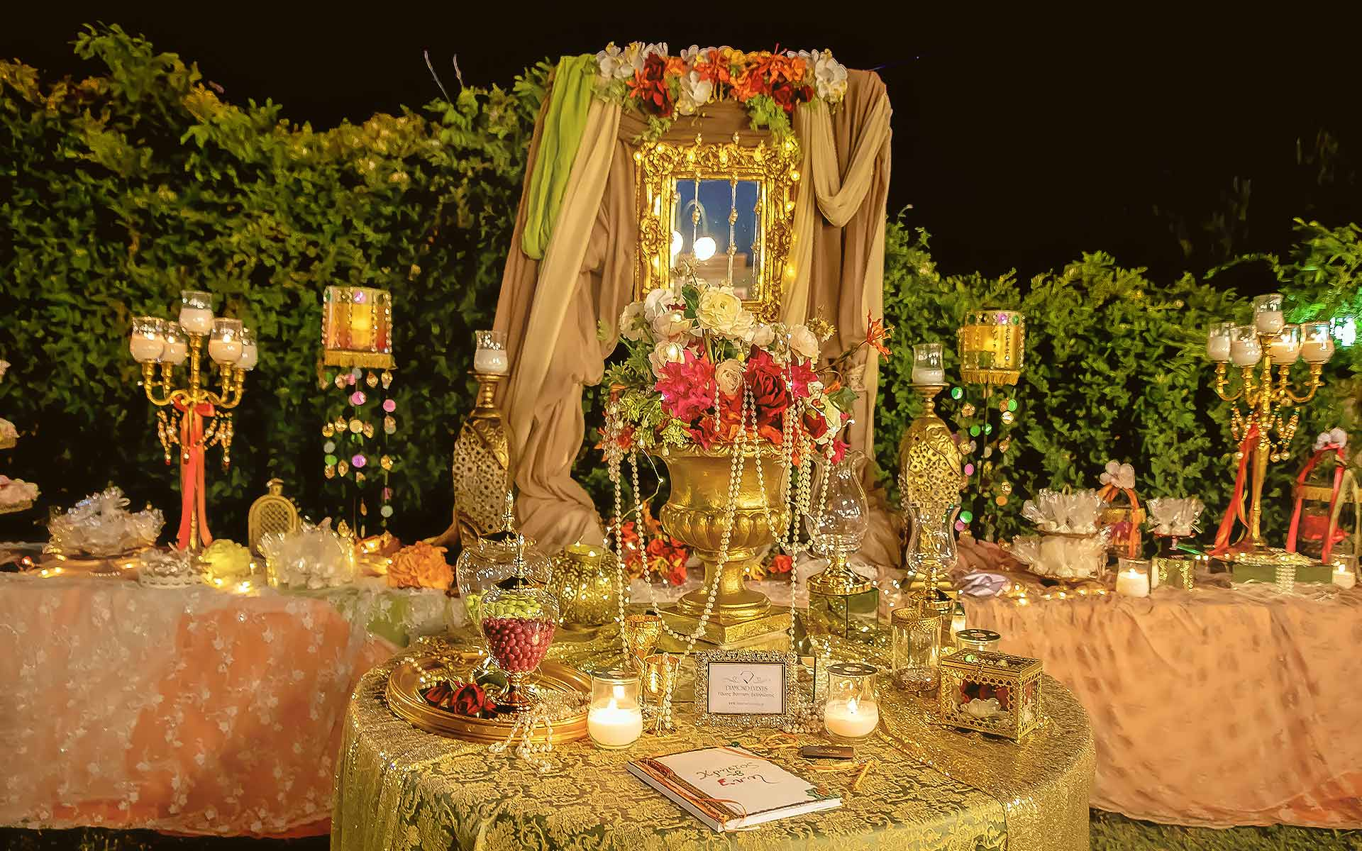 OUR SERVICES - Diamond Events - Luxury Wedding & Event