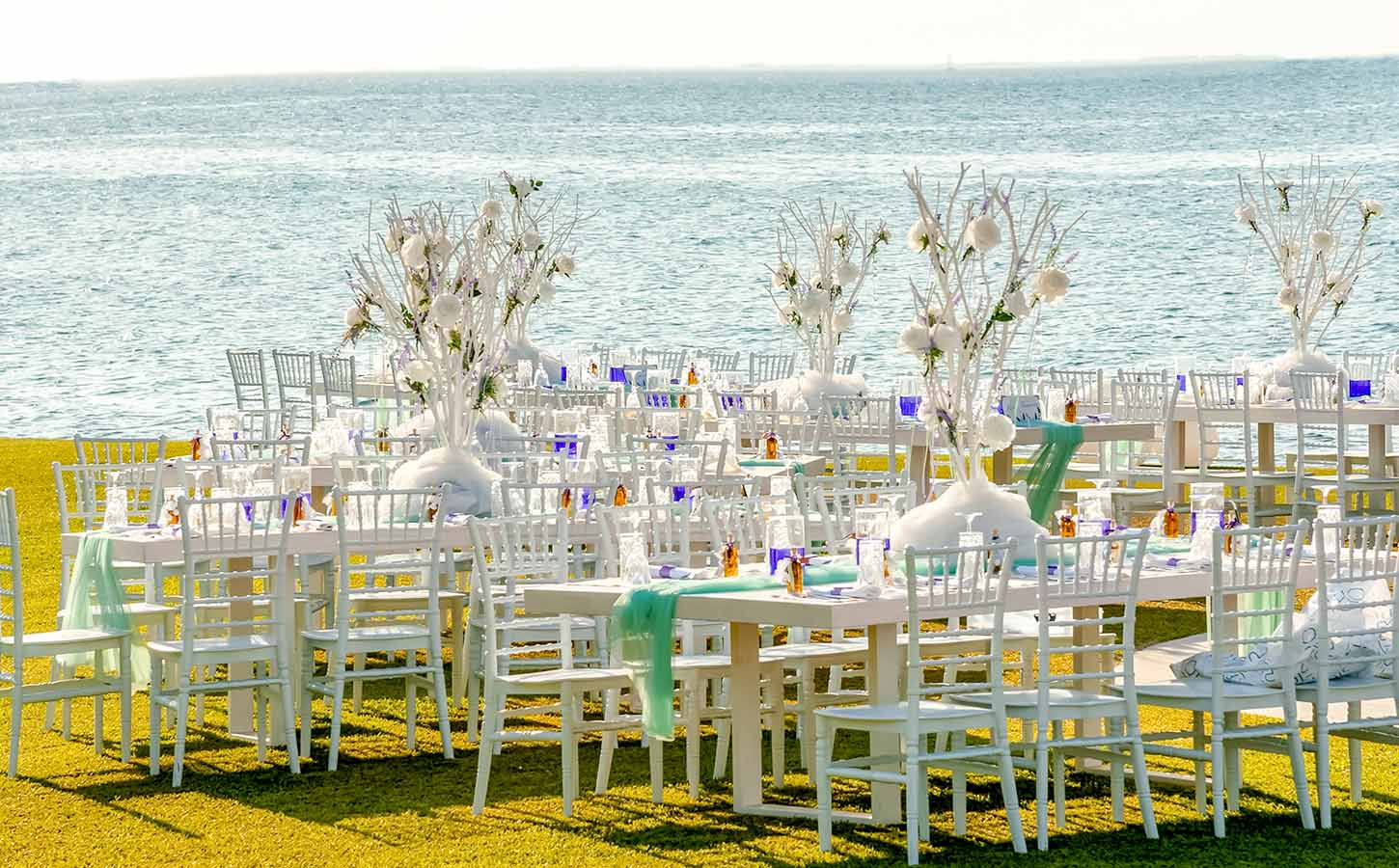 Beach-style-reception-venue-Great Locations for Your Wedding in Greece
