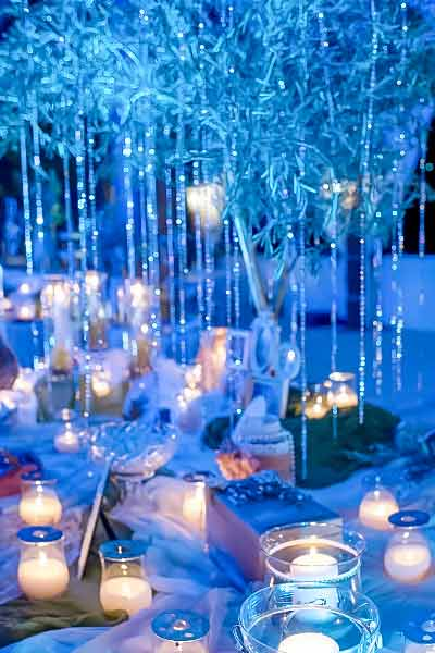 Luxury wedding guest book table- Diamond Events